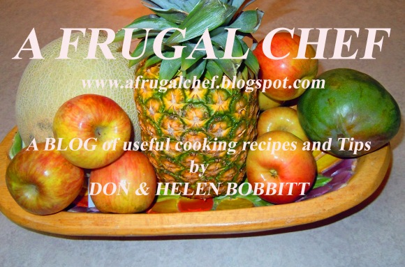 A FRUGAL CHEF