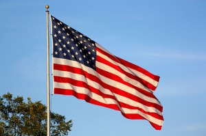 American Flag - pic by Roger Sayles via Flickr