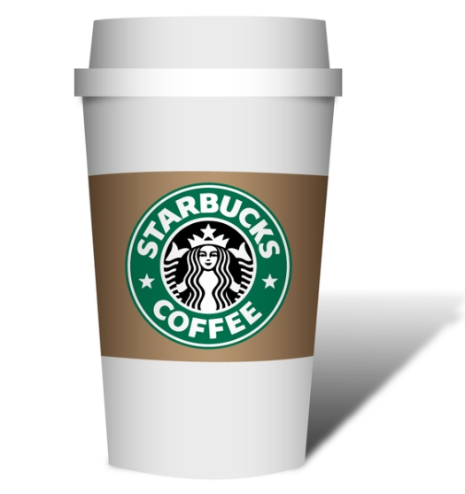 Starbucks Coffee Cup - to go